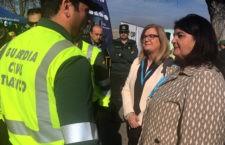 Subdelegación destaca la labor del centenar de agentes de la Guardia Civil de la provincia que han colaborado con la Vuelta a Andalucía