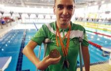 Martínez Tajuelo destaca en el Campeonato de España de Natación Adaptada