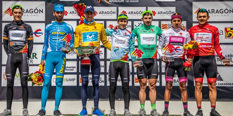 Moreno roza el triunfo en la Vuelta a Aragón
