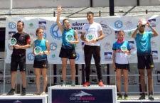 Silvia Lara y Silvia Cano, campeona y subcampeona del Andaluz de kilómetro vertical