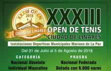 Linares volverá a celebrar su tradicional Open de Tenis