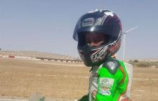 Nano Calahorro logró dos podios en el Andaluz de Minivelocidad
