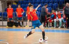 Antonio Pérez anota en la goleada de España ante Portugal