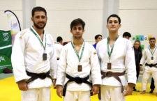 Tres medallas jiennenses en el Andaluz Absoluto de judo
