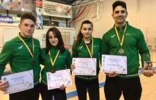 Los deportistas jiennenses completan un campeonato perfecto. Foto: Club Power Torredelcampo.