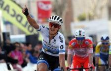 Torredonjimeno acoge la victoria de Matteo Trentin en la segunda etapa de la Vuelta a Andalucía