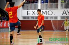 Antonio Pérez, protagonista en la clasificación de España Sub-19 para el Europeo