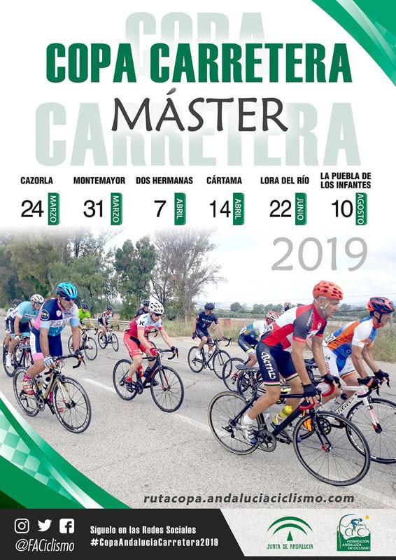 Cartel anunciador de la Copa Master Andalucía Carretera