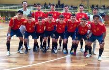 Karim Boumedian sale de inicio en la victoria de España Sub-19 ante Eslovenia