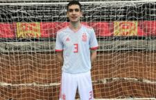 Pablo Ordoñez marcó en su debut con España