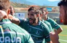 Rafa Teruel, técnico del Jaén Rugby. Foto: Laura Amate.