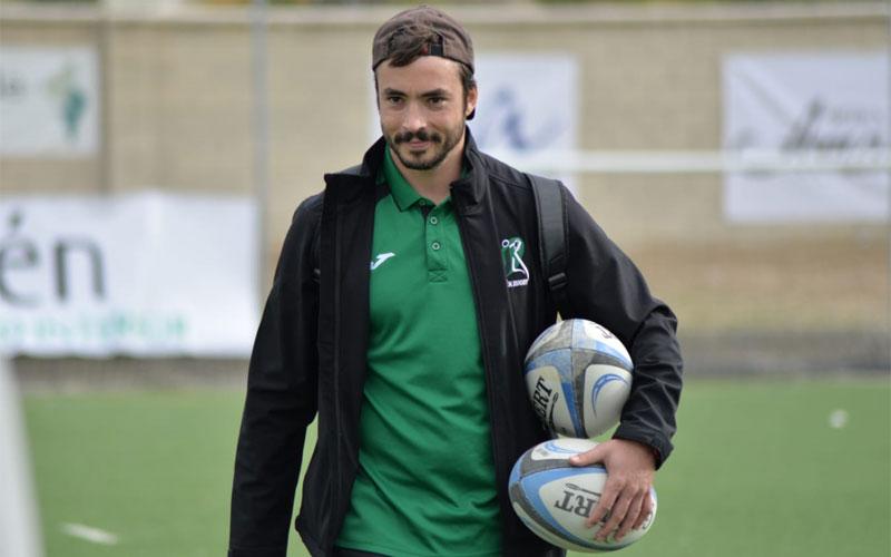 Rafa Teruel, entrenador del Jaén Rugby