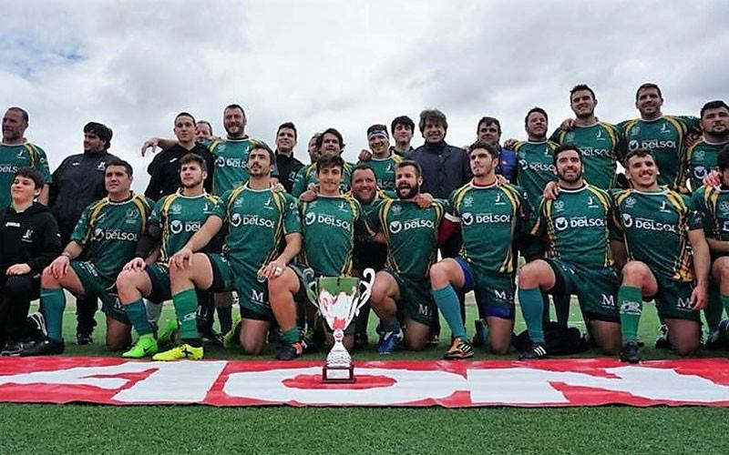 Formación del Jaén Rugby