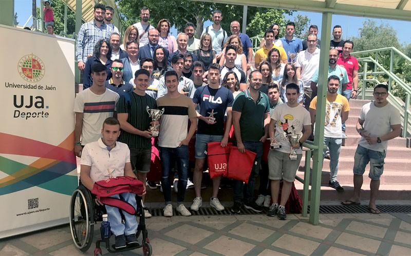 Deportistas de la Universidad de Jaén