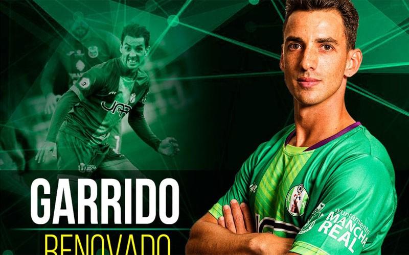Garrido, jugador del Atlético Mancha Real