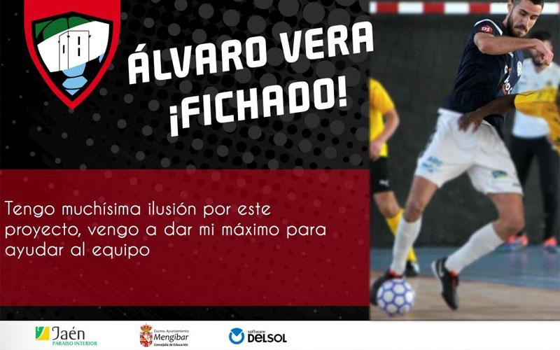 Álvaro Vera, fichaje del Mengíbar FS