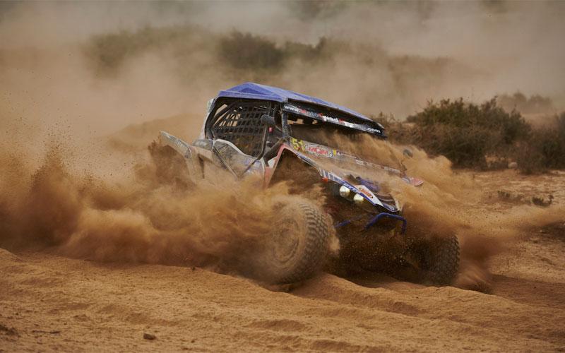 Coche del Motoquad Mágina Racing Team