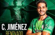 Carlos Jiménez renueva con el Atlético Mancha Real