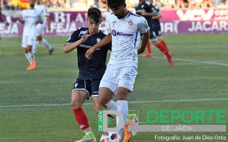 Juanjo Mateo en un partido con el Algeciras CF