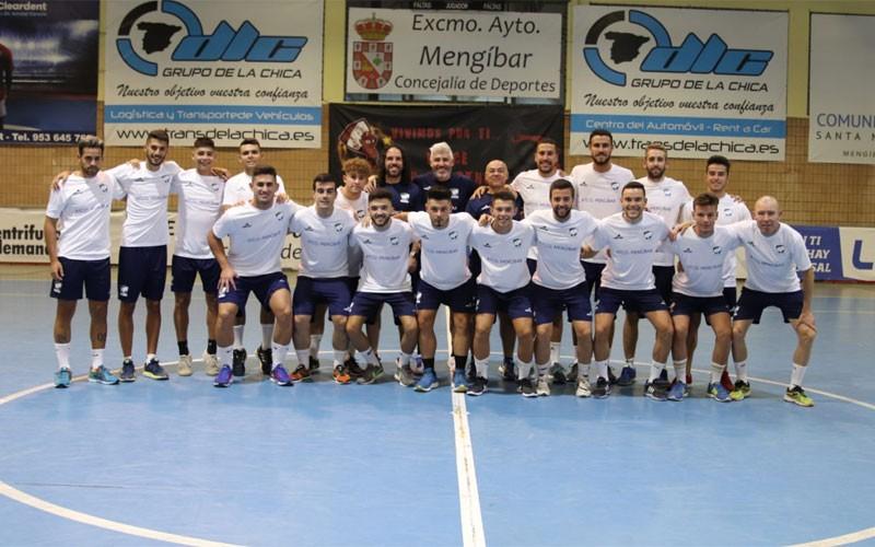 Jugadores del Mengíbar FS