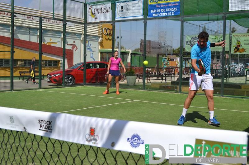 Pilar Navarro y Martín Fernández, pareja ganadora en la categoría mixtos