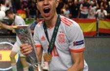 Antonio Pérez hace historia con España al ganar el I Europeo de Fútbol Sala Sub-19
