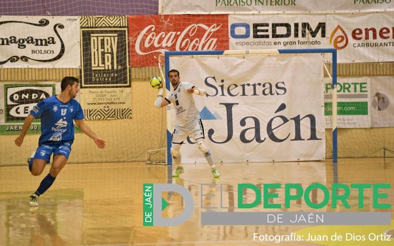 Fabio, portero del Jaén FS