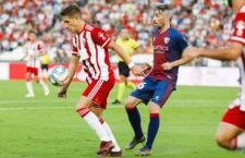 El Almería de Corpas se impuso al Huesca. Foto: La Liga.