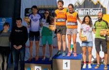 La joven jiennense continúa ampliando su lista de éxitos. Foto: Club Sierra Sur Jaén.