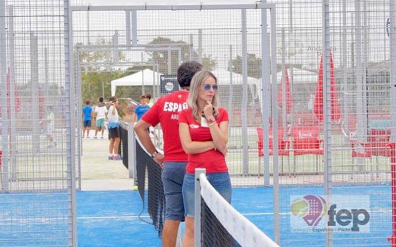 Susana Arroyo durante un campeonato