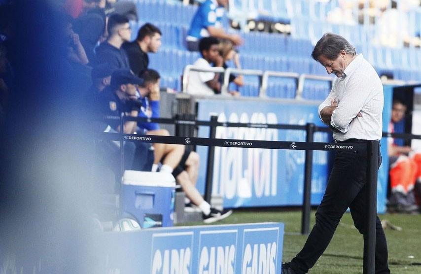 Anquela, entrenador del Deportivo de la Coruña
