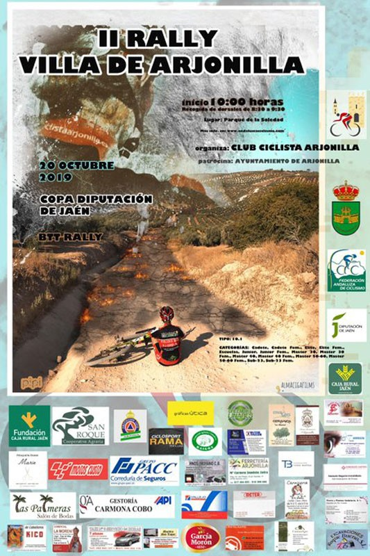 Cartel del BTT Rally de Arjonilla
