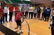 El floorball llega a la Universidad de Jaén. Foto: UJA.