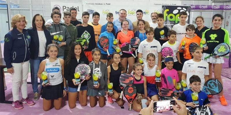 Ganadores de la prueba del Circuito de Menores celebrada en Jaén