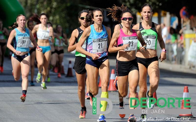 Atletas en la Milla Ciudad de Jaén 'Manuel Pancorbo'