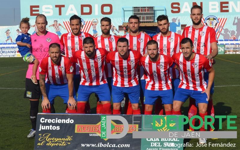 Once inicial del Atlético Porcuna