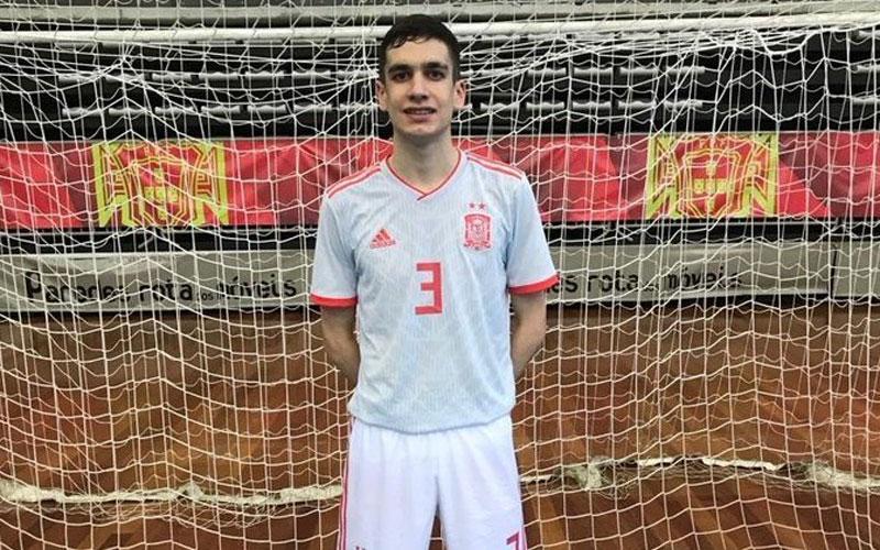 Pablo Ordóñez, jugador del Jaén FS