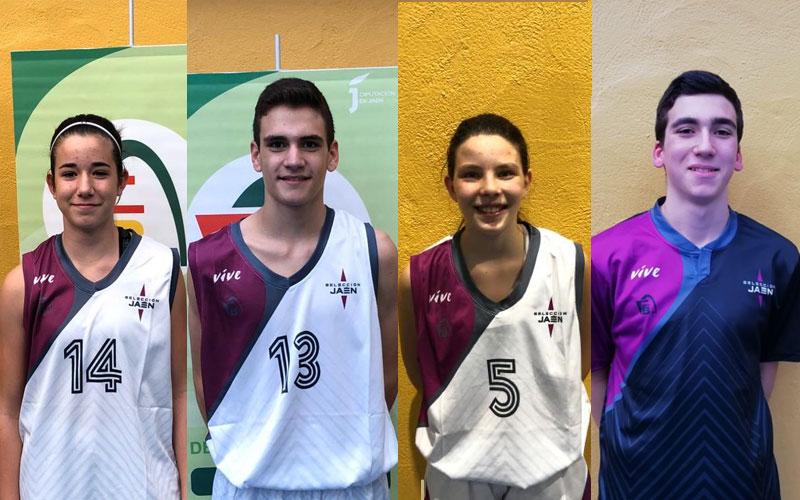 Jugadores de Jaén preseleccionados por la Federación Andaluza de Baloncesto