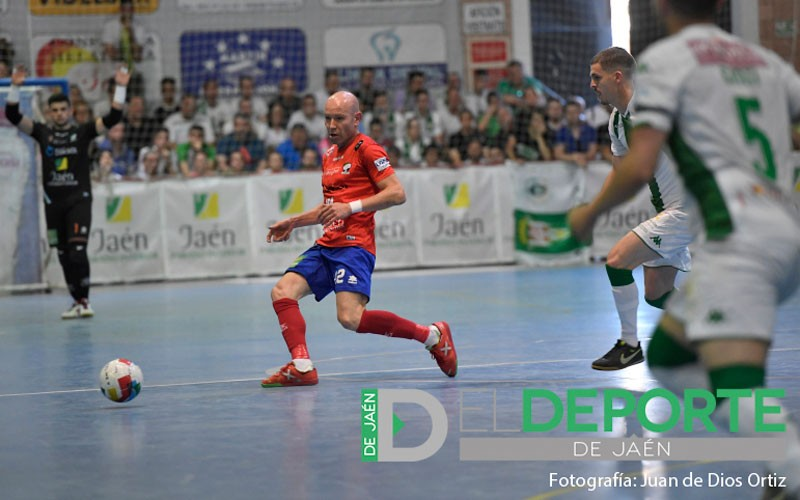 José López, jugador del Mengíbar FS, durante un partido ante el Córdoba