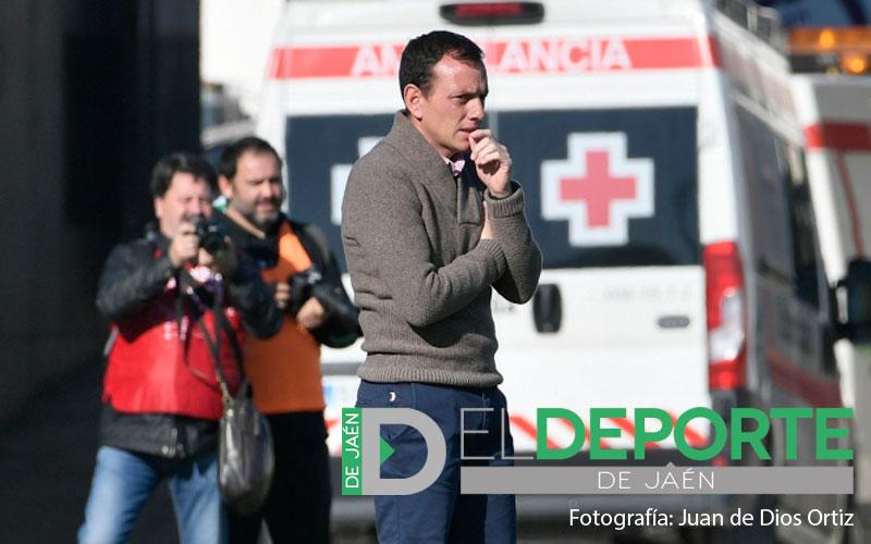 Alberto gonzalez, entrenador del real jaen