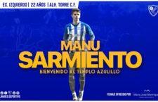 El Linares Deportivo incorpora a Manu Sarmiento