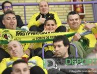 La afición en La Salobreja (Jaén FS – O Parrulo Ferrol)