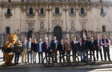 La Catedral de Jaén ha acogido la presentación de esta prueba. Foto: Diputación de Jaén.