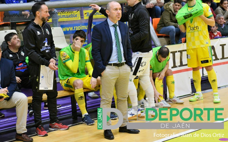 Dani Rodríguez, entrenador Jaén Paraíso Interior FS