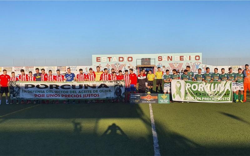 La pegada del CD El Ejido tumba al Atlético Porcuna