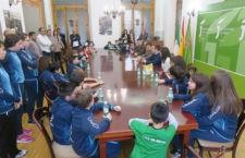 Visita institucional del RCTM Linares antes del Campeonato de España