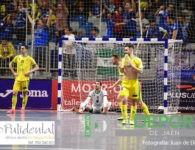 Edu y Catela firman la injusta eliminación del Jaén FS en la Copa de España