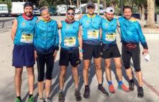 El Club Sierra Sur de Jaén evidencia su dominio en Albanchez de Mágina