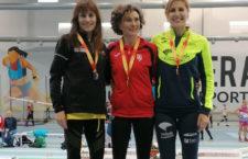 Las medallas marcaron el fin de semana del Unicaja Atletismo