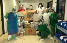 Enduro Jaen y Moto Jaén donan material sanitario por valor de 2.300 euros
